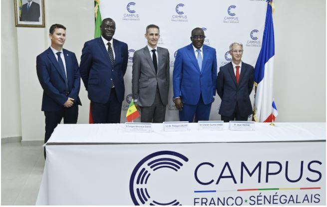 Installation du Conseil d'administration du campus franco-sénégalais